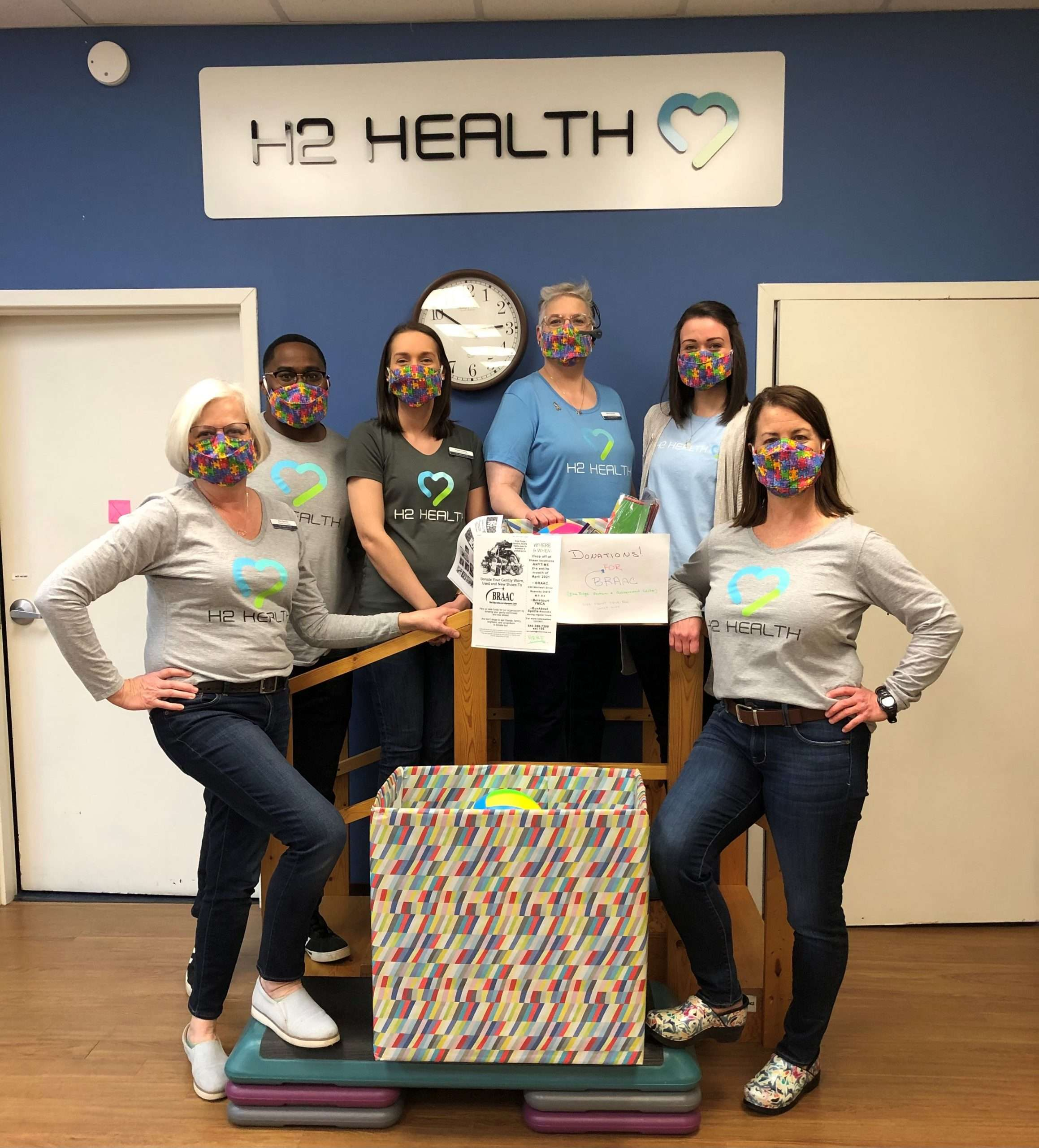 Salem Va Braac (blue Ridge Autism And Achievement Center) Raise Funds By Wearing Jeans And Collecting Items